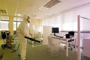 ¿Por qué necesitas una desinfección electrostática en grandes oficinas?